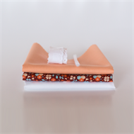 Image de Set pour robe de poupée supplémentaire - Marsala - Rose Pastel