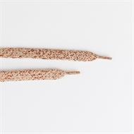 Image de Lacets - Rose Grisé Avec Lurex En Cuivre